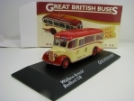 Autobus Bedford OB Wallace Arnold 1:76 Great Britisch Buses Atlas Edition